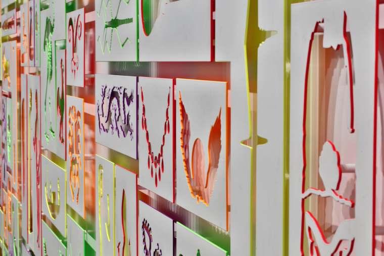 Lyon : expo souterraine en presqu'île
